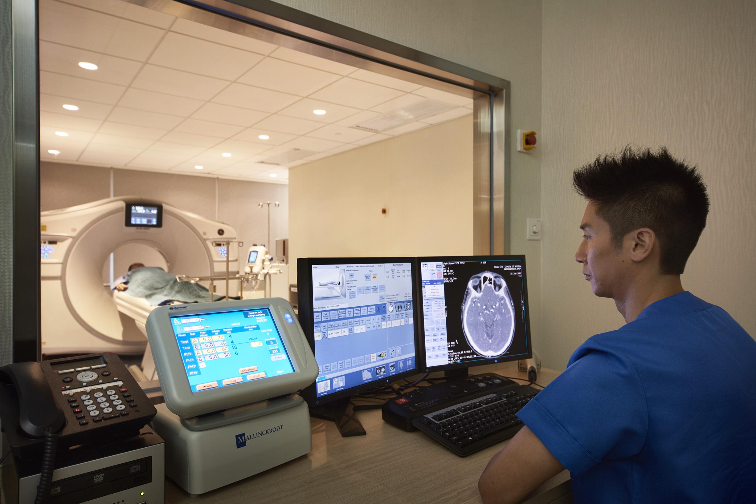 香港綜合影像診斷中心提供多元化的醫療檢測服務,當中包括電腦斷層掃描(CT)。