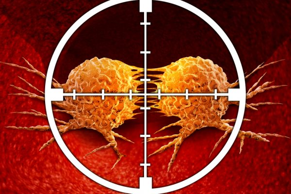 a-target-aiming-at-the-cancerous-cell