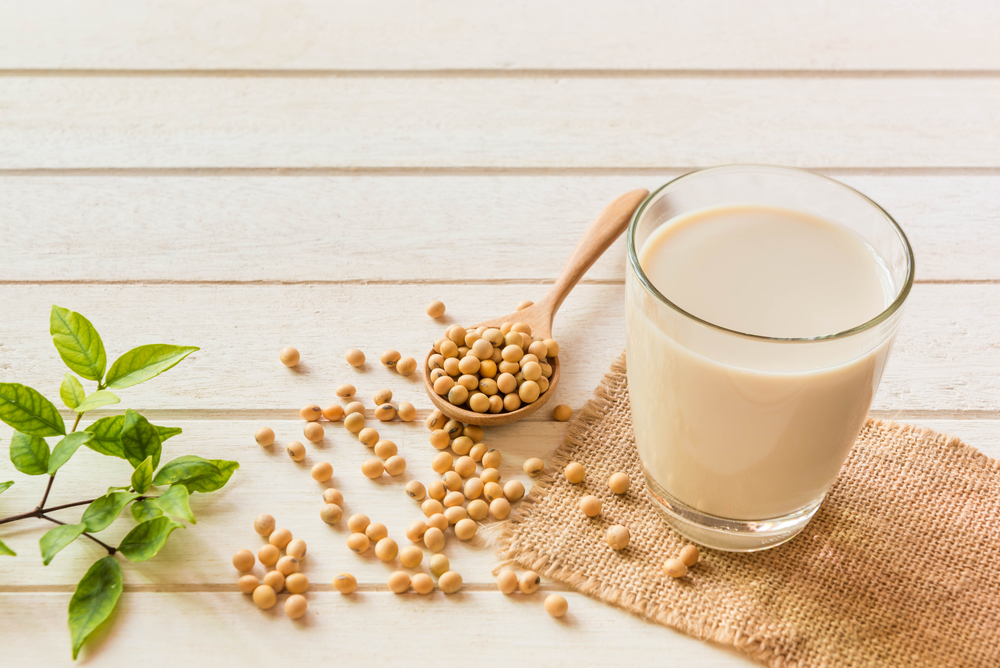 soymilk and soy